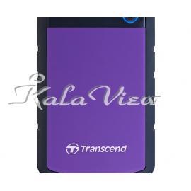 هارد اکسترنال لوازم جانبی ترنسند StoreJet 25H3 1TB