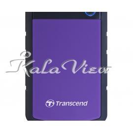 هارد اکسترنال لوازم جانبی ترنسند StoreJet 25H3 Portable Hard Drive 3TB