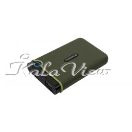 هارد اکسترنال لوازم جانبی ترنسند StoreJet 25M3S Slim 2TB