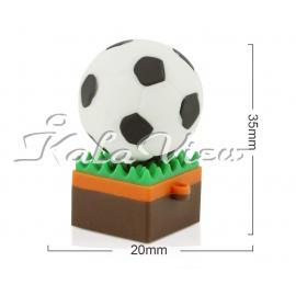 فلش مموري طرح توپ فوتبال مدل Ultita Fb02 ظرفيت 32 گيگابايت