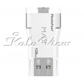 فلش مموری لوازم جانبی Photofast Max U3 i Flash  128GB
