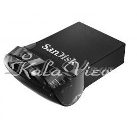 فلش مموري سن ديسک مدل Ultra Fit Usb 3.1 Cz430 ظرفيت 128 گيگابايت