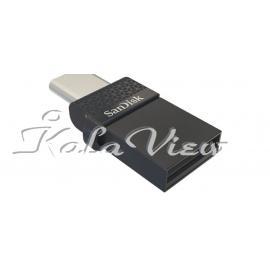 Sandisk Dual Drive Usb Type C Flash Memory  16Gb