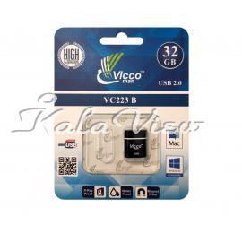 فلش مموري ويکومن مدل Vc223 B ظرفيت 32 گيگابايت