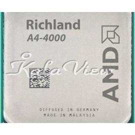 سی پی یو کامپیوتر AMD Richland A4 4000