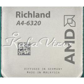 سی پی یو کامپیوتر AMD Richland A4 6320