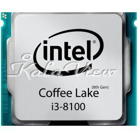 سی پی یو کامپیوتر اینتل Coffee Lake Core i3 8100