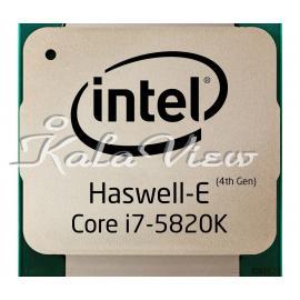 سی پی یو کامپیوتر اینتل Haswell E Core i7 5820K