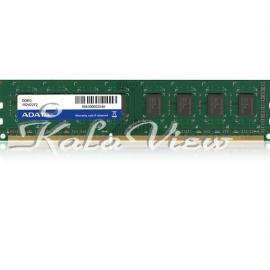 رم کامپیوتر Adata Premier PC3 12800 4GB DDR3 1600MHz 240Pin U DIMM Ram