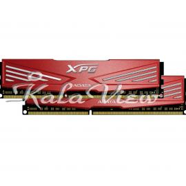 رم کامپیوتر Adata XPG V1 DDR3 1866MHz CL10 Dual Channel Desktop RAM  16GB
