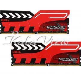 رم کامپیوتر Geil Evo Forza DDR4 3200MHz CL16 Dual Channel Desktop RAM  8GB