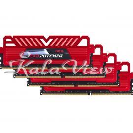 رم کامپیوتر Geil Evo Potenza DDR4 2666MHz CL15 Quad Channel Desktop RAM  16GB