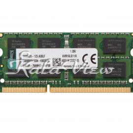 رم لپ تاپ Kingston Value DDR3L( PC3L ) 1600( 12800 ) 8GB CL11 Single Channel