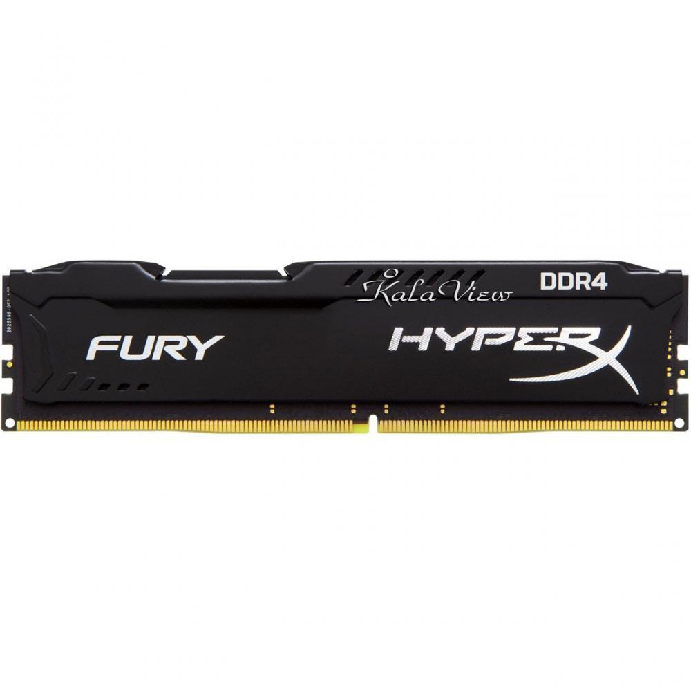رم کامپیوتر Kingston HyperX Fury DDR4( PC4 ) 2400( 19200 ) 4GB CL15 Single Channel