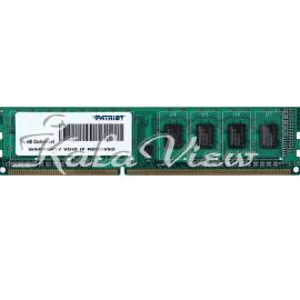 رم کامپیوتر پاتریوت Signature DDR3 1600 CL11 Single Channel Desktop RAM  2GB