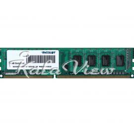 رم کامپیوتر پاتریوت Signature DDR3 1600 CL11 Single Channel Desktop RAM  4GB