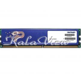رم کامپیوتر پاتریوت Signature DDR3 1600 CL11 Single Channel Desktop RAM  8GB