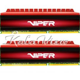 رم کامپیوتر پاتریوت Viper 4 DDR4 2800 CL16 Dual Channel Desktop RAM  16GB