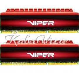رم کامپیوتر پاتریوت Viper 4 DDR4 3000 CL16 Dual Channel Desktop RAM  8GB