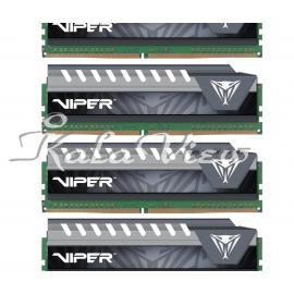 رم کامپیوتر پاتریوت Viper Elite DDR4 2666 CL15 Quad Channel Desktop RAM  64GB