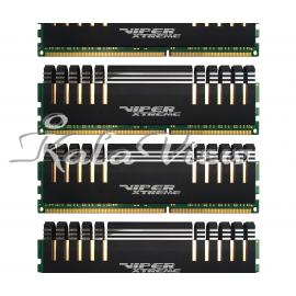 رم کامپیوتر پاتریوت Viper Extreme DDR4 2400 CL15 Quad Channel Desktop RAM  32GB