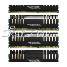 رم کامپیوتر پاتریوت Viper Extreme DDR4 2666 CL15 Quad Channel Desktop RAM  32GB