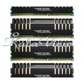 رم کامپیوتر پاتریوت Viper Xtreme DDR4 2800 CL16 Quad Channel Desktop RAM  16GB
