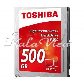 هارد کامپیوتر توشیبا P300 HDWD105EZSTA Drive  500GB