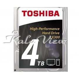 هارد کامپیوتر توشیبا X300 HDWE140 Drive  4TB