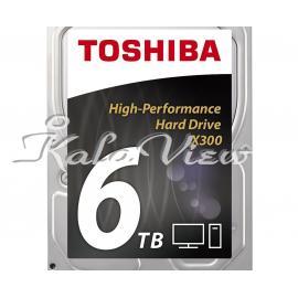 هارد کامپیوتر توشیبا X300 HDWE160EZSTA Drive  6TB