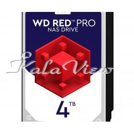 هاردديسک اينترنال وسترن ديجيتال مدل Wd4003ffbx ظرفيت 4 ترابايت