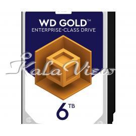 هارد کامپیوتر Western digital Gold Wd6002fryz 6Tb