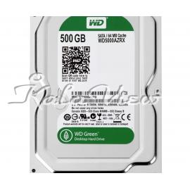 هارد کامپیوتر Western digital Green Wd5000azrx 500Gb
