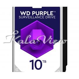 هارد کامپیوتر Western digital Purple Wd100purz 10Tb