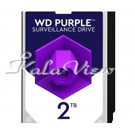 هارد کامپیوتر Western digital Purple Wd20purz 2Tb