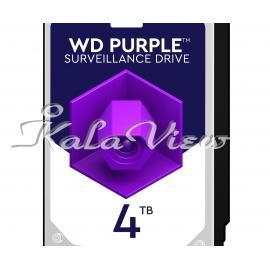 هارد کامپیوتر Western digital Purple Wd40purz 4Tb