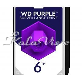 هارد کامپیوتر Western digital Purple Wd60purz 6Tb