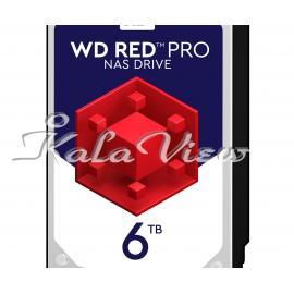 هارد کامپیوتر Western digital Red Pro Wd6002ffwx 6Tb