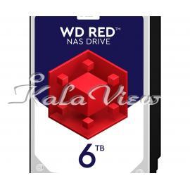 هارد کامپیوتر Western digital Red Wd60efrx 6Tb