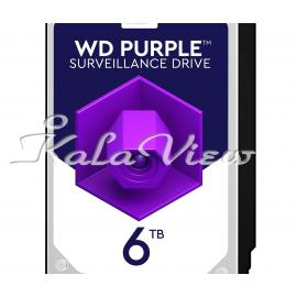 هارد کامپیوتر وسترن Digital Purple WD60PURZ Disk 6TB