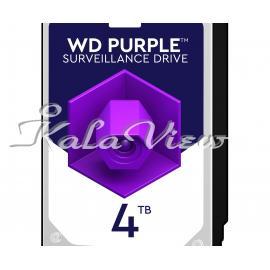 هارد کامپیوتر وسترن Digital Purple WD40PURZ Disk 4TB