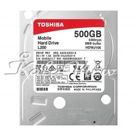 هارد کامپیوتر توشیبا L200 HDWJ105   500GB