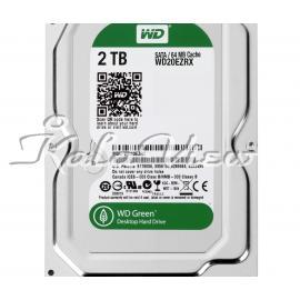 هارد کامپیوتر وسترن Digital Green WD20EZRX   2TB
