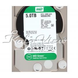 هارد کامپیوتر وسترن Digital Green WD50EZRX   5TB