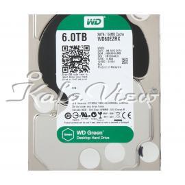 هارد کامپیوتر وسترن Digital Green WD60EZRX   6TB