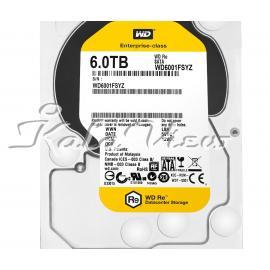 هارد کامپیوتر وسترن Digital RE WD6001FSYZ   6TB