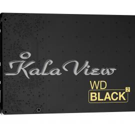 هارد کامپیوتر وسترن Digital Black 2 Internal HDD + SSD Dual  1TB + 120GB