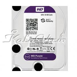 هارد کامپیوتر وسترن Digital Purple Surveillance Edition 3TB 64MB Cache