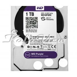 Western Digital Purple Wd10purx Internal Hard Drive 1Tb