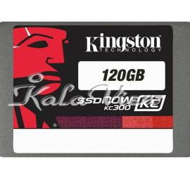 هارد اس اس دی کامپیوتر کینگستون KC300 SSD Upgrade Bundle Kit  120GB
